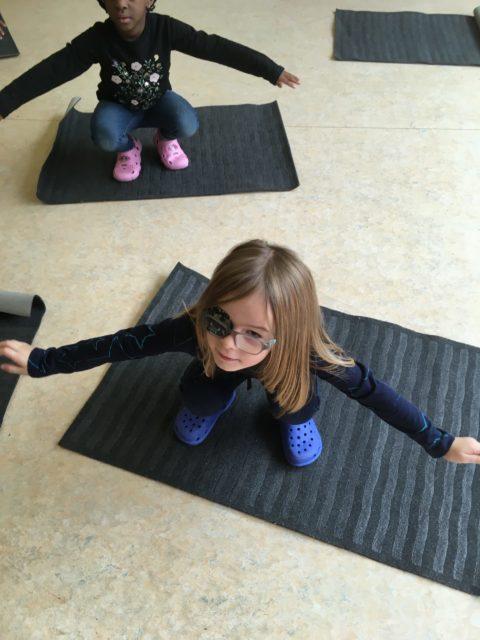 Relaxation: séance de yoga